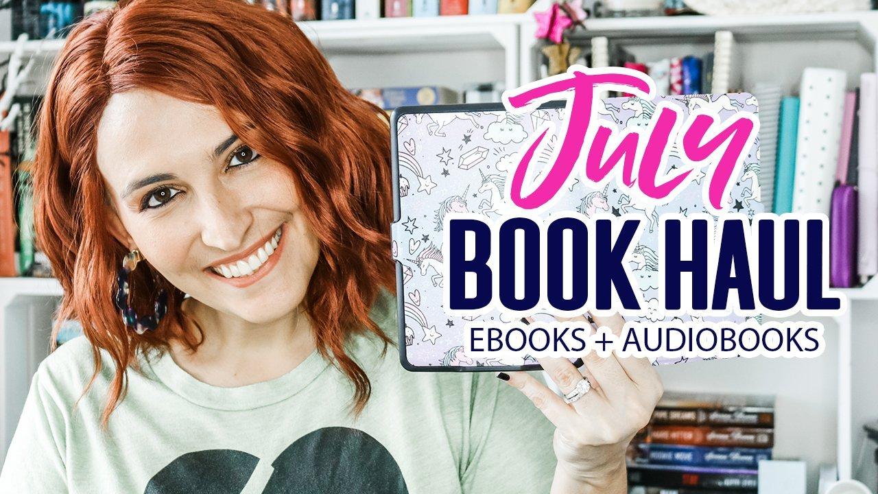 Digital Book Haul: July 2019