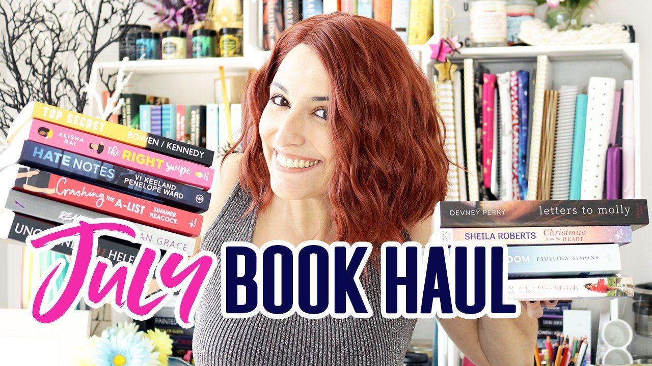 Book Haul + Giveaway: July 2019