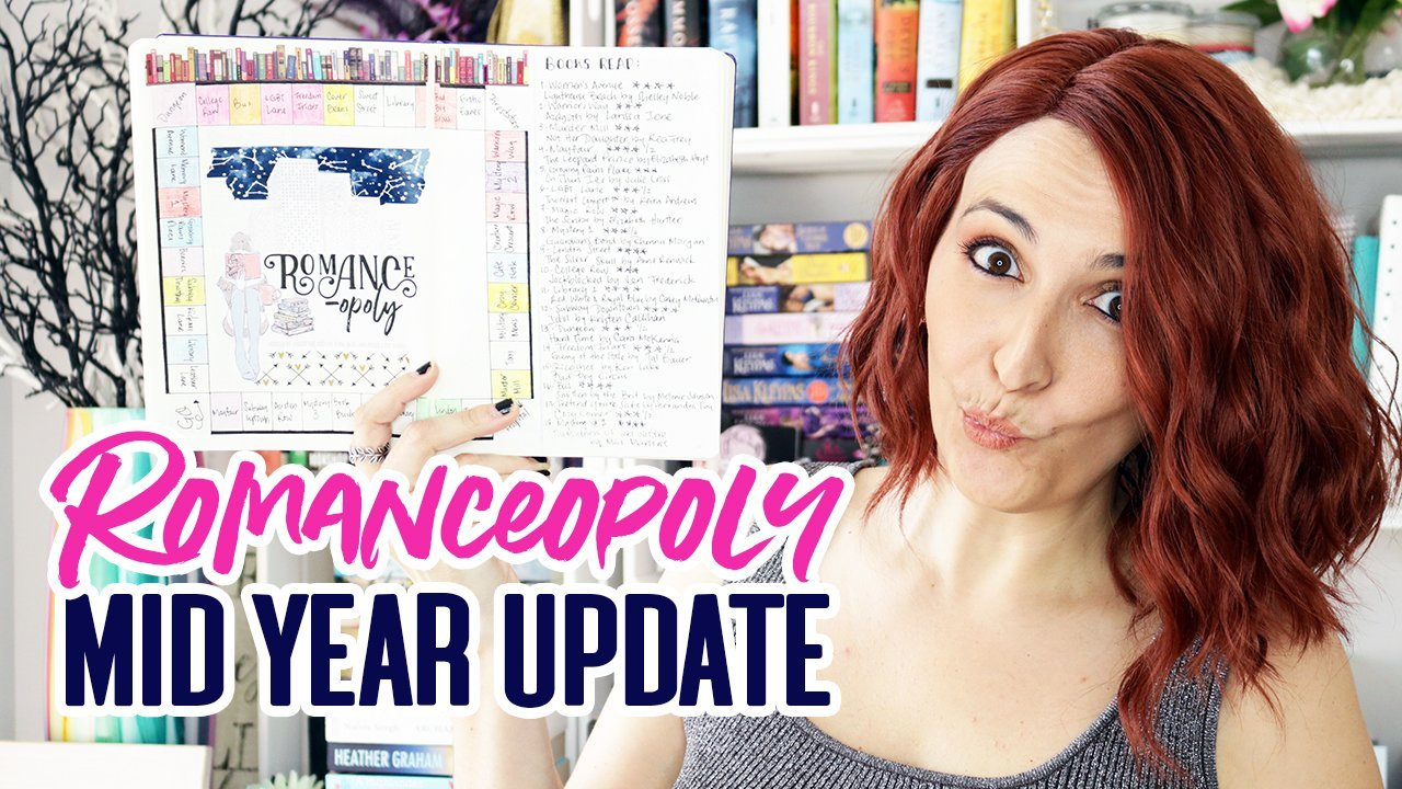 #Romanceopoly Mid Year Update | Francesca