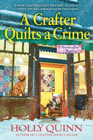 ARC Review: A Crafter Quilts a Crime by Holly Quinn
