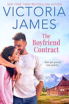 The Boyfriend Contract by Victoria James