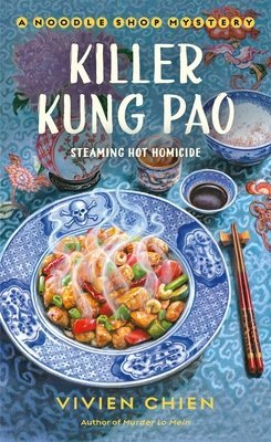 ARC Review: Killer Kung Pao by Vivien Chien