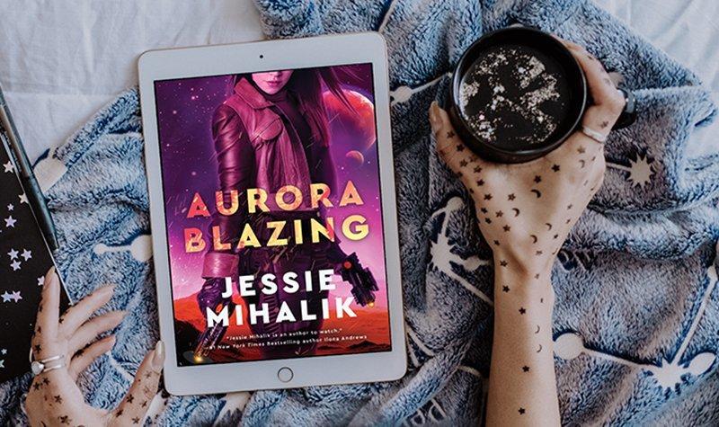 ARC Review: Aurora Blazing by Jessie Mihalik