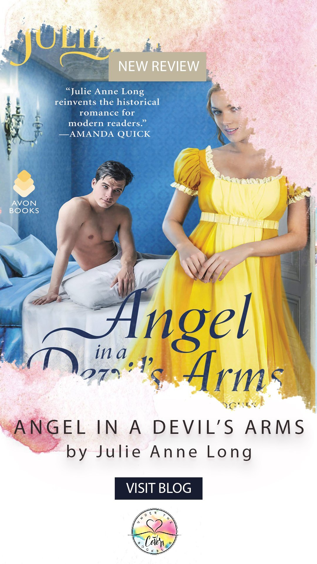 ARC Review + Giveaway: Angel in a Devil\'s Arms by Julie Anne Long