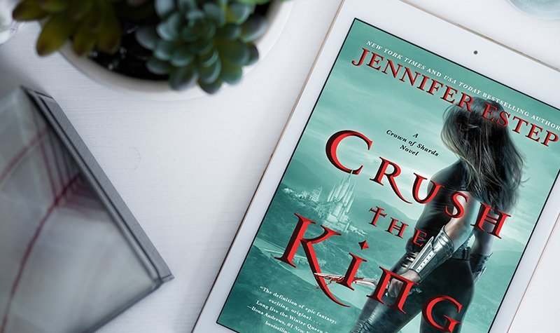 ARC Review: Crush the King by Jennifer Estep