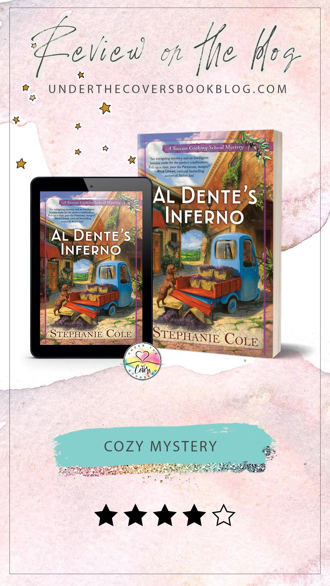 ARC Review: Al Dente\'s Inferno by Stephanie Cole