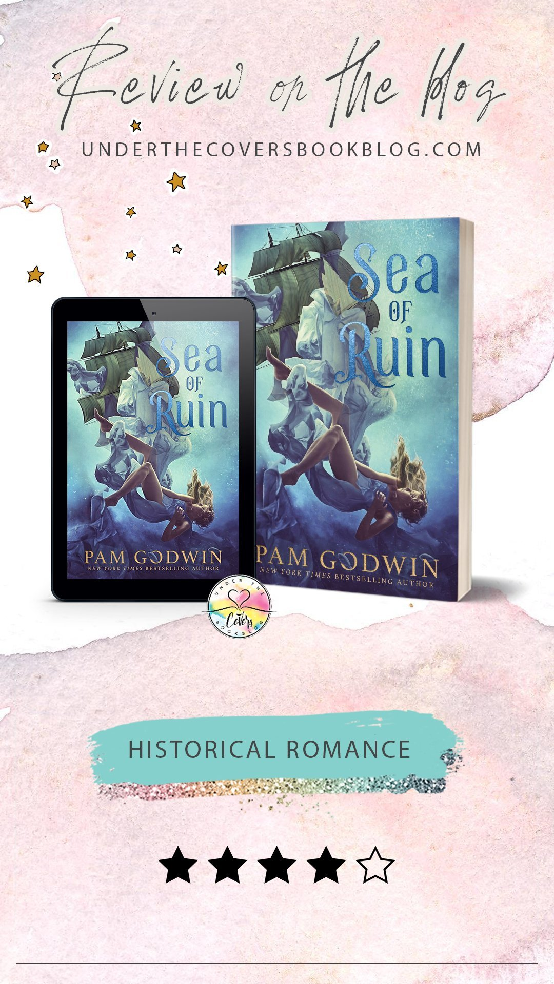 ARC Review: Sea of Ruin by Pam Godwin