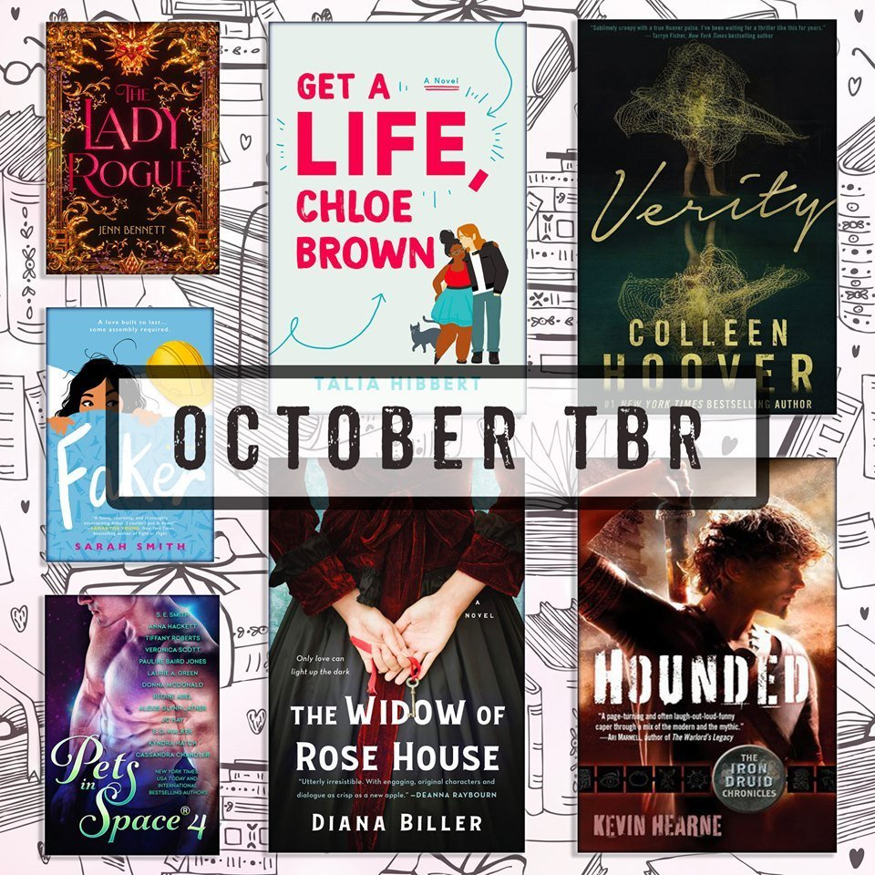 October #Romanceopoly Reading List