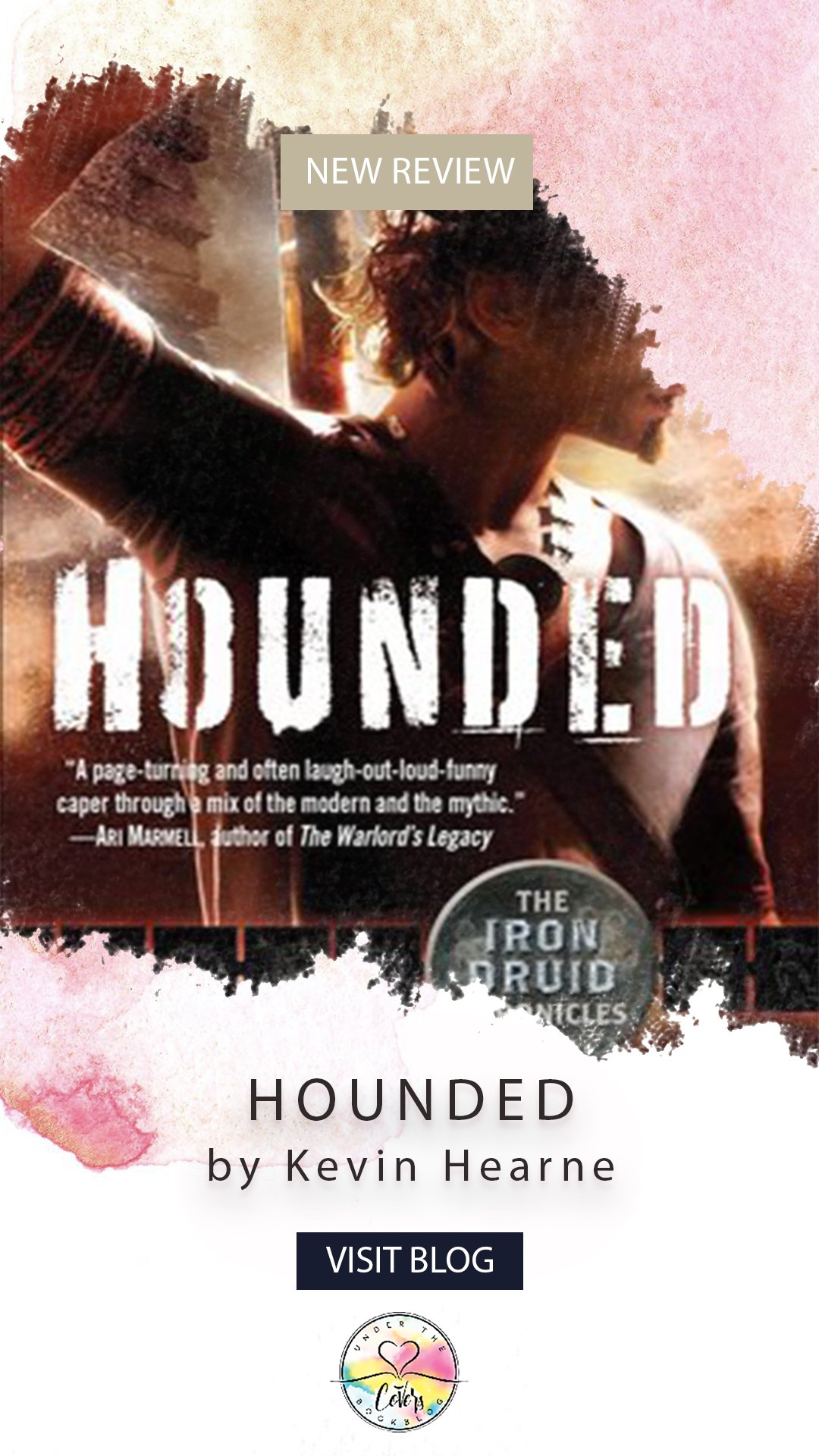 Romanceopoly Review: Hounded by Kevin Hearne