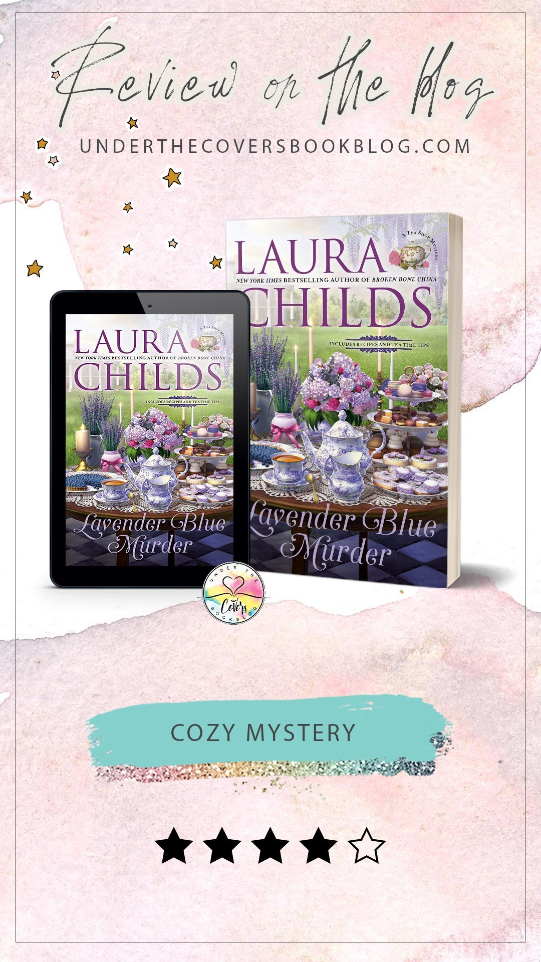 ARC Review: Lavender Blue Murder by Laura Childs
