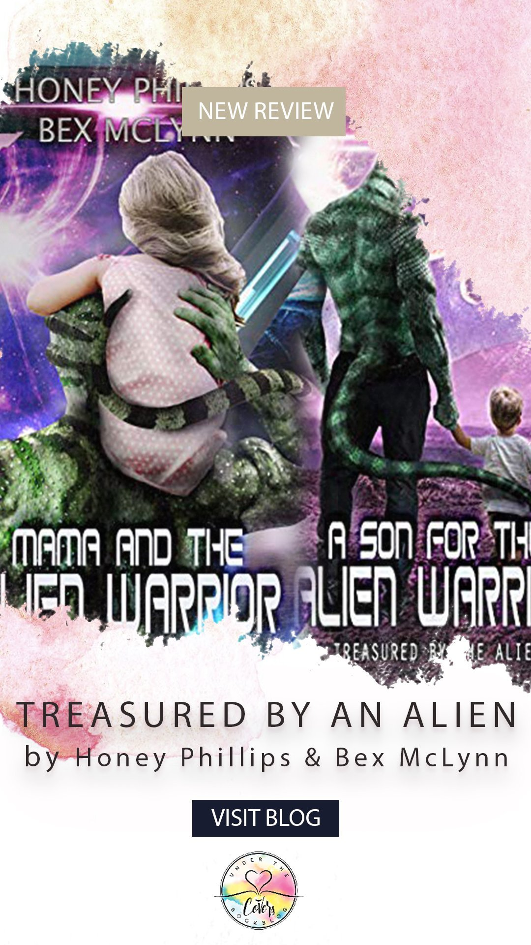 Review: Mama and the Alien Warrior/A Son for the Alien Warrior by Honey Phillips, Bex McLynn