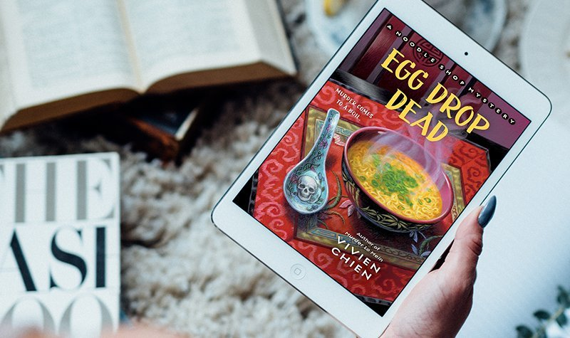 ARC Review: Egg Drop Dead by Vivien Chien