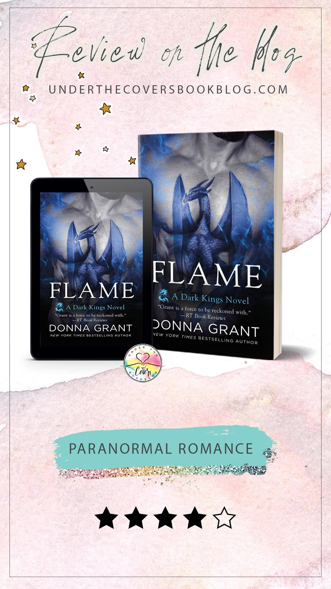 ARC Review: Flame by Donna Grant