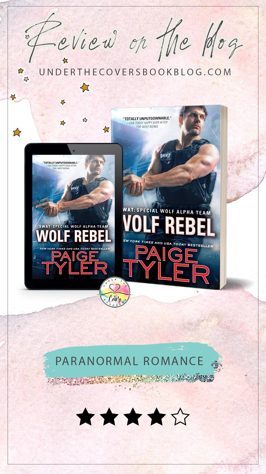 Review: Wolf Rebel by Paige Tyler