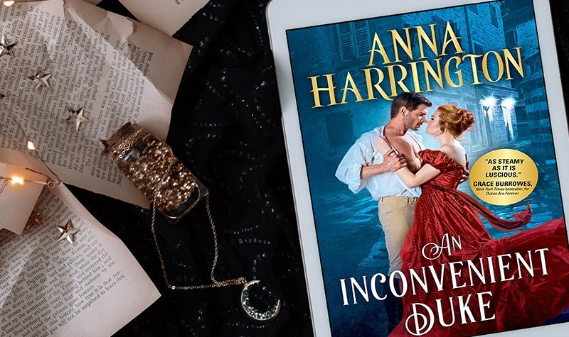 ARC Review: An Inconvenient Duke by Anna Harrington