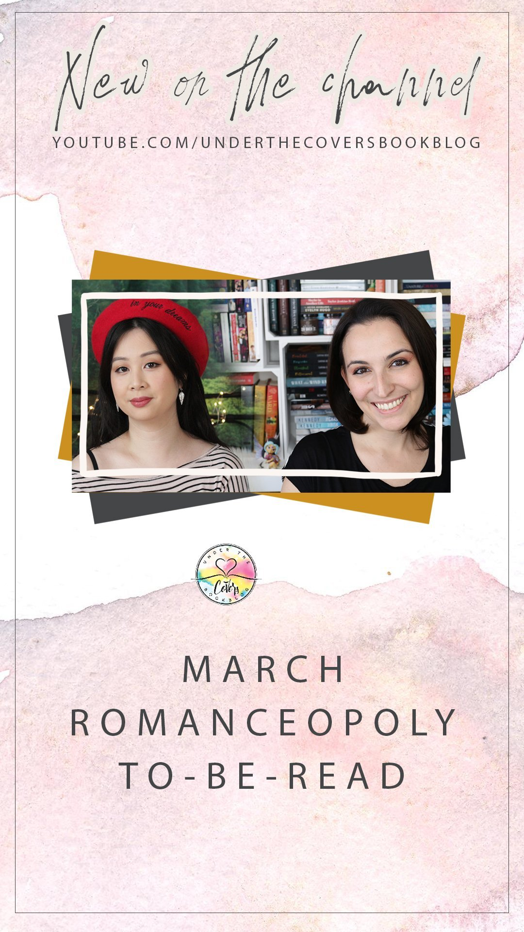 March 2020 Reading List #Romanceopoly