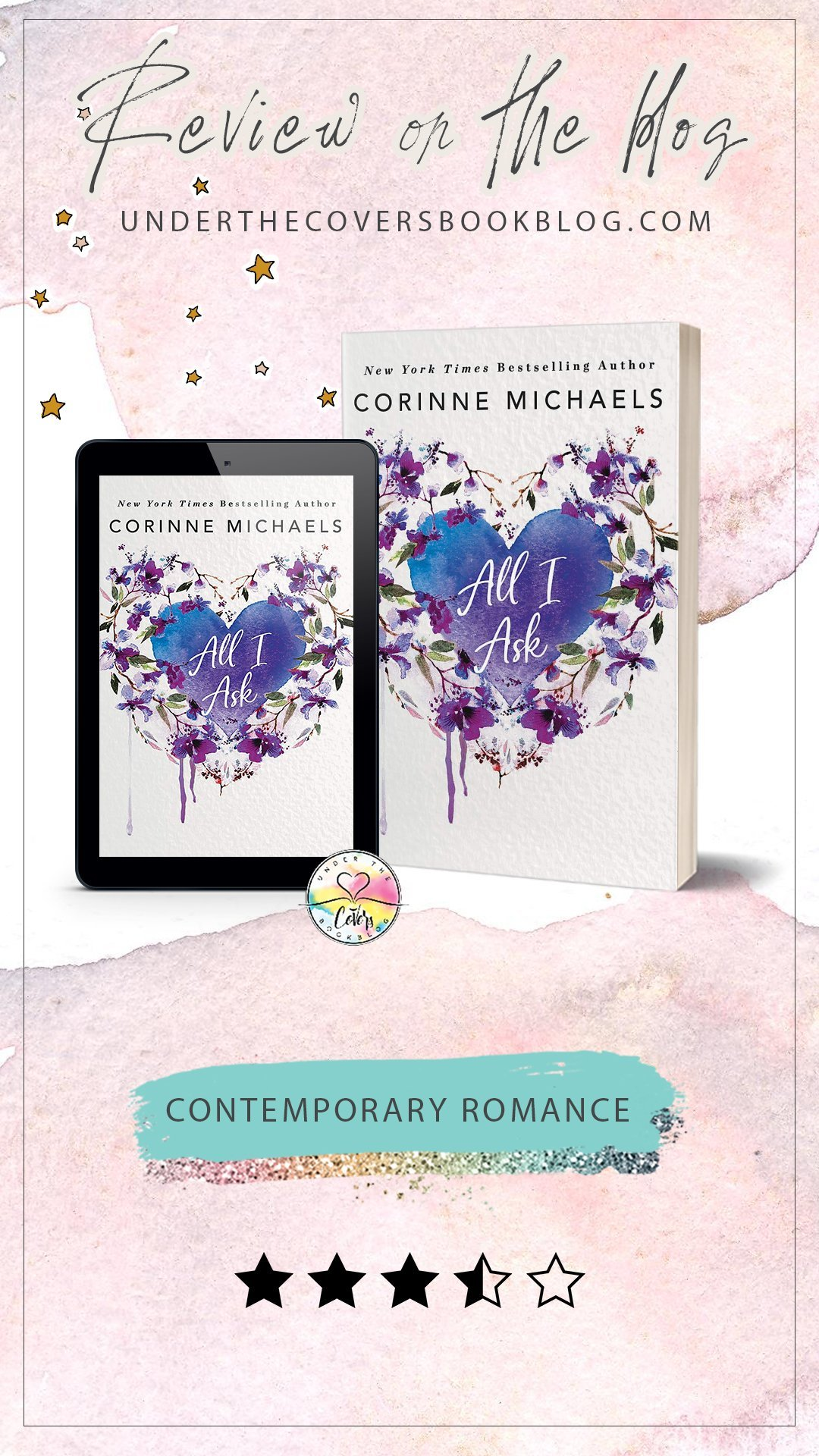 ARC Review: All I Ask by Corinne Michaels