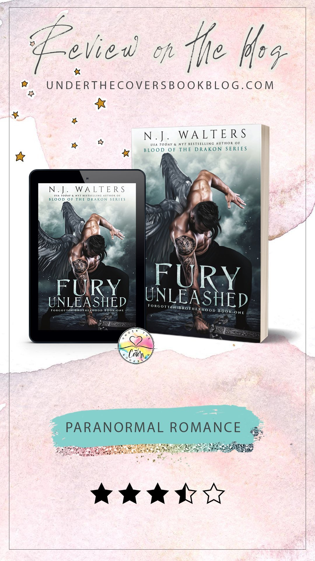 ARC Review: Fury Unleashed by N.J. Walters