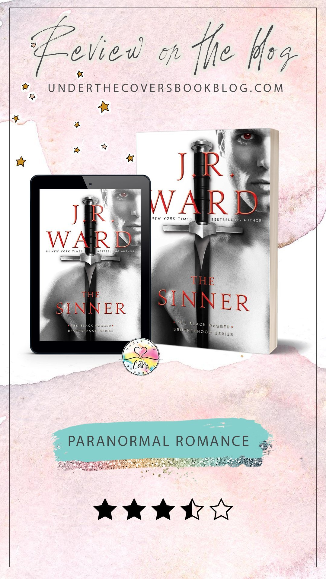 ARC Review: The Sinner by J.R. Ward
