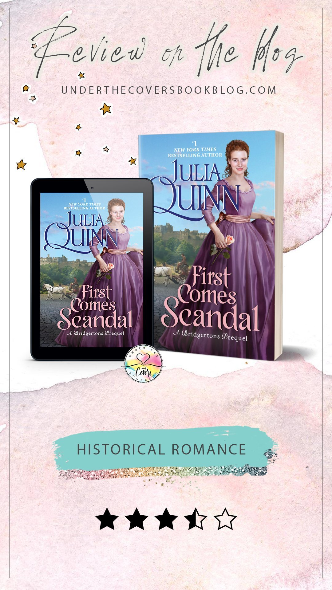 ARC Review: First Comes Scandal by Julia Quinn
