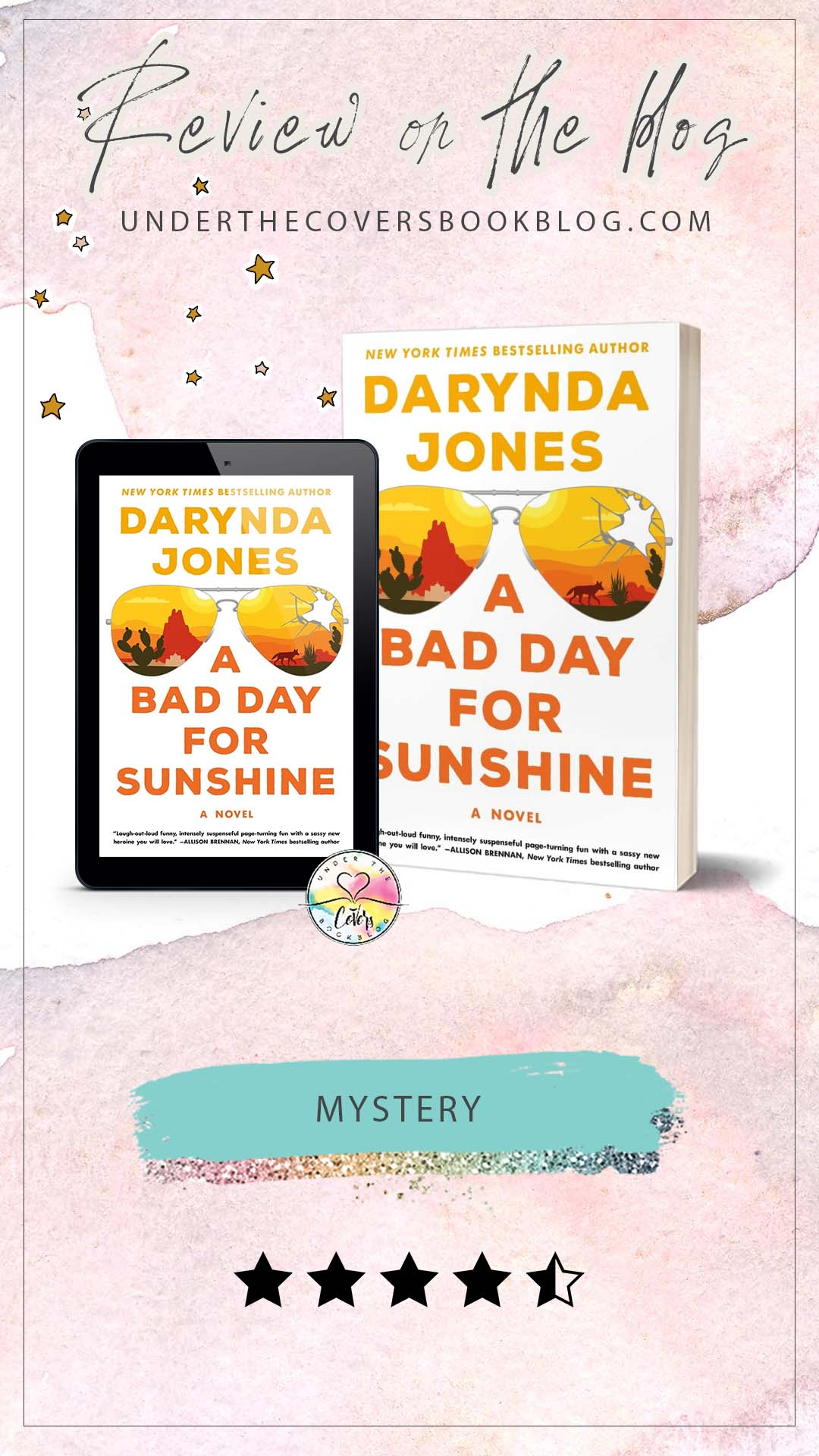 ARC Review: A Bad Day for Sunshine by Darynda Jones