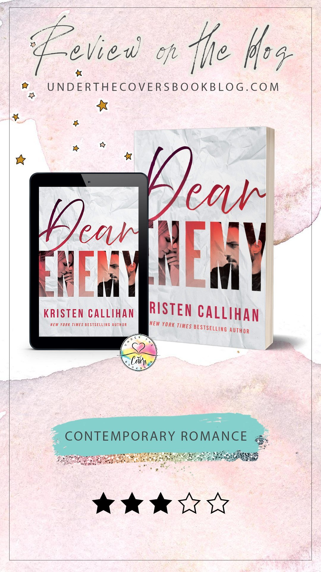 ARC Review: Dear Enemy by Kristen Callihan
