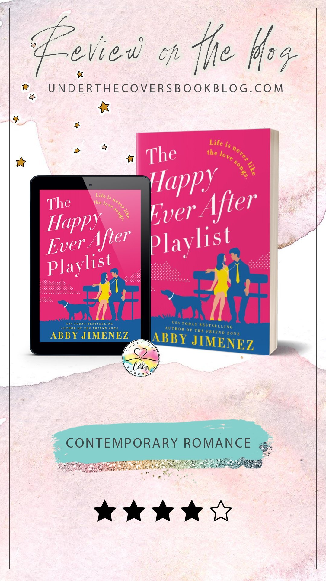 ARC Review: The Happy Ever After Playlist by Abby Jimenez