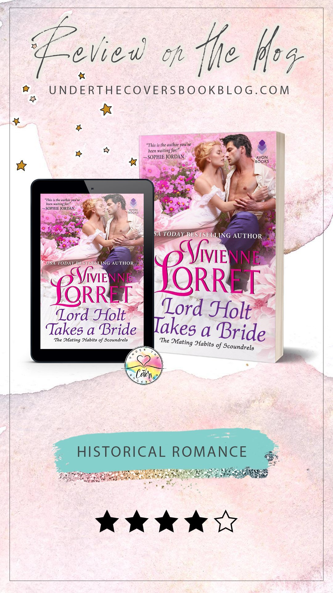 ARC Review: Lord Holt Takes a Bride by Vivienne Lorret