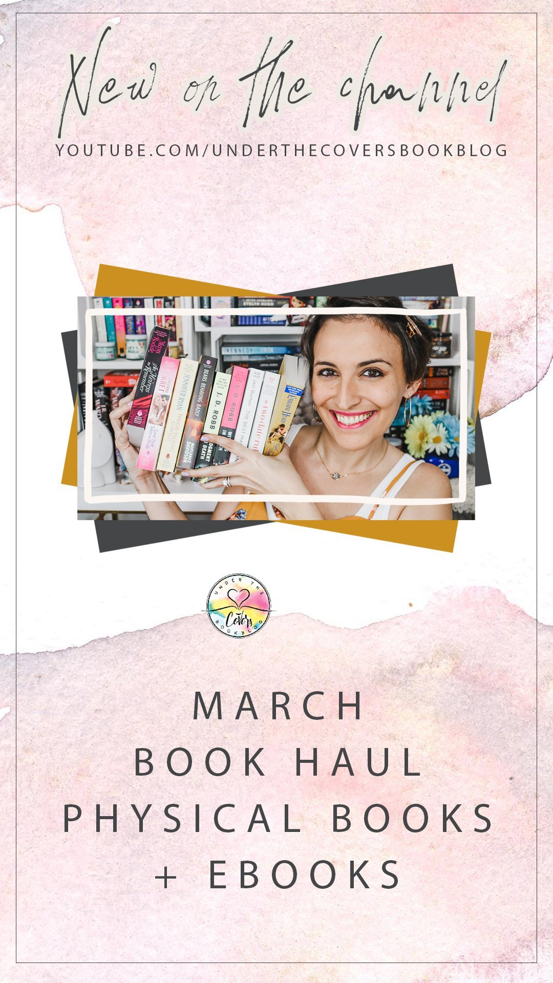 Book Haul + Giveaway: March 2020