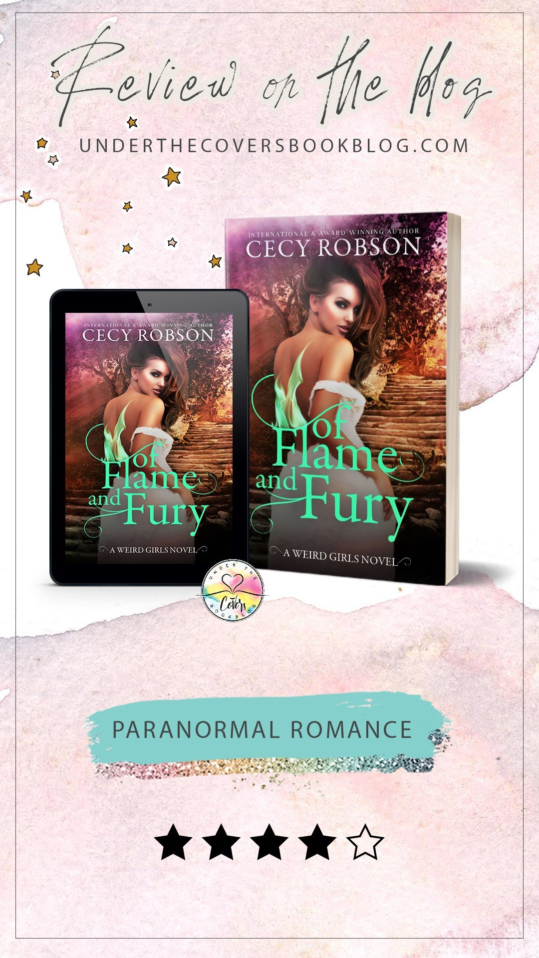 ARC Review: Of Flame and Fury by Cecy Robson