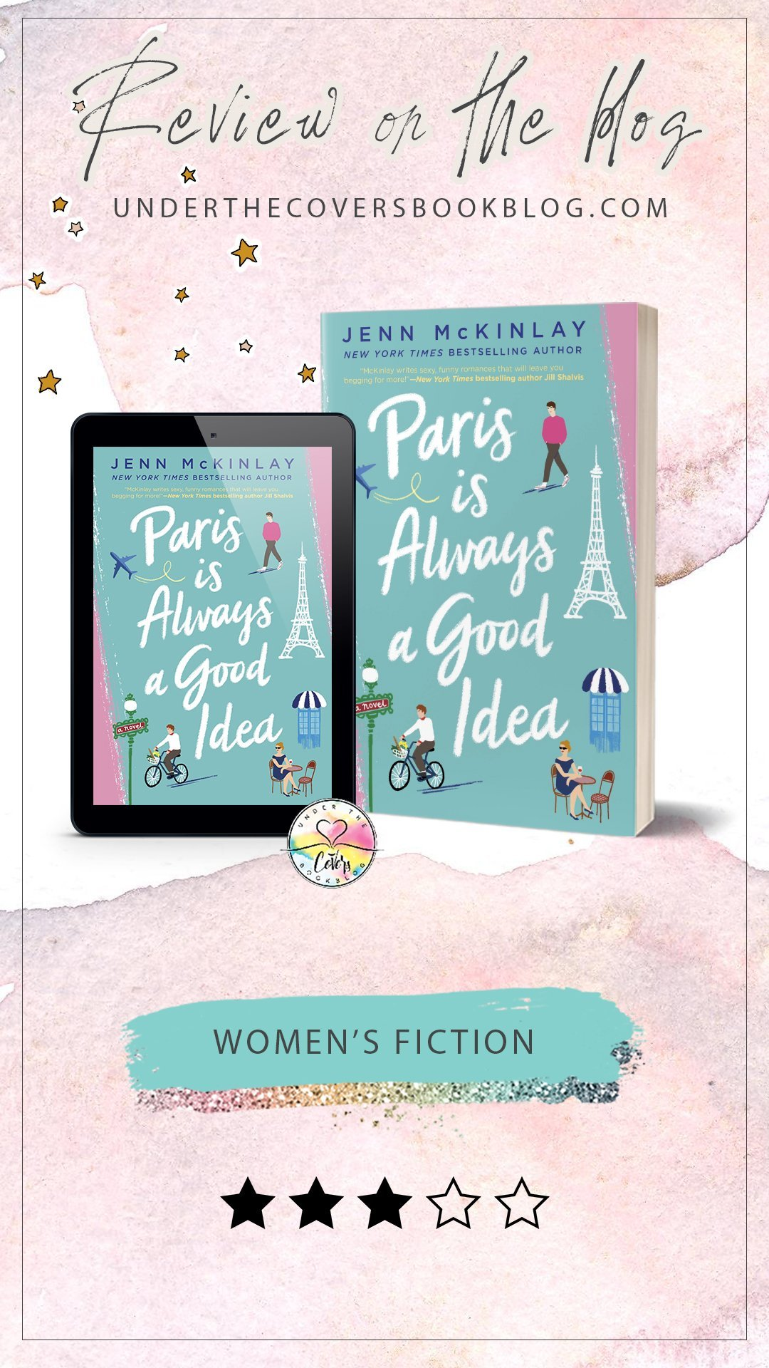 ARC Review: Paris is Always a Good Idea by Jenn McKinlay