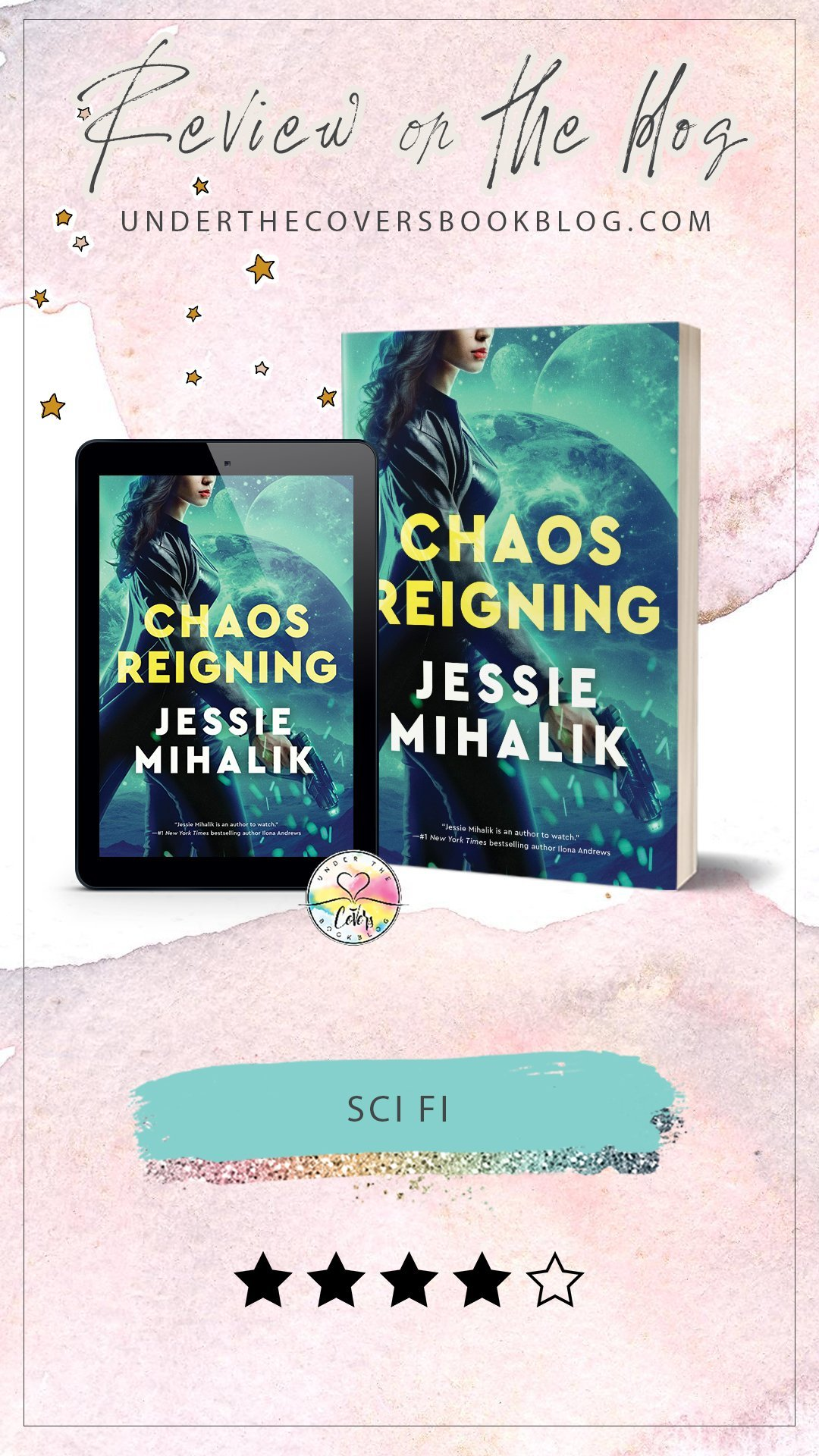 ARC Review: Chaos Reigning by Jessie Mihalik