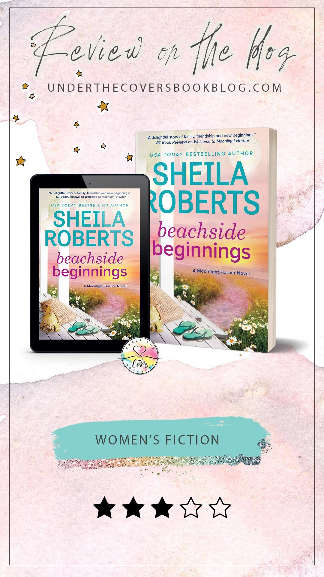 ARC Review: Beachside Beginnings by Sheila Roberts