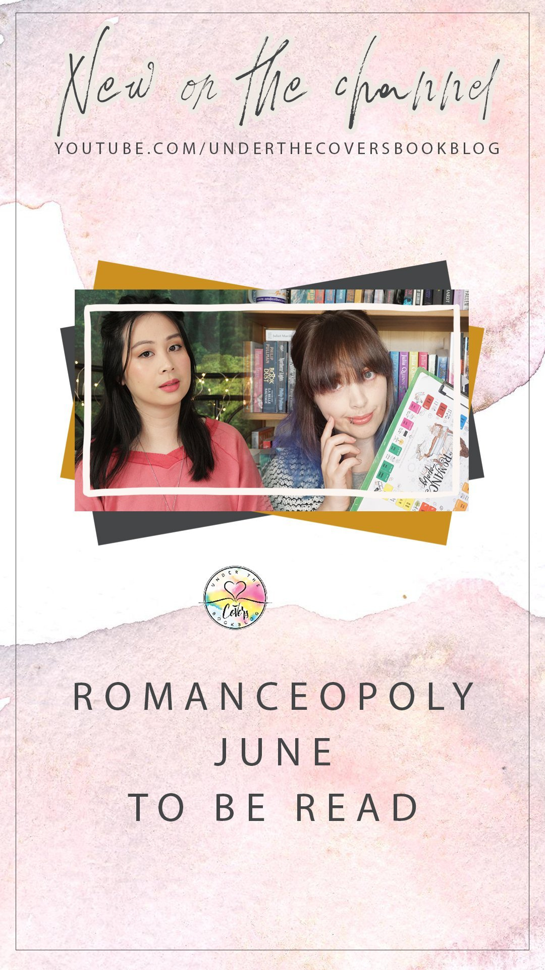 June 2020 Reading List #Romanceopoly