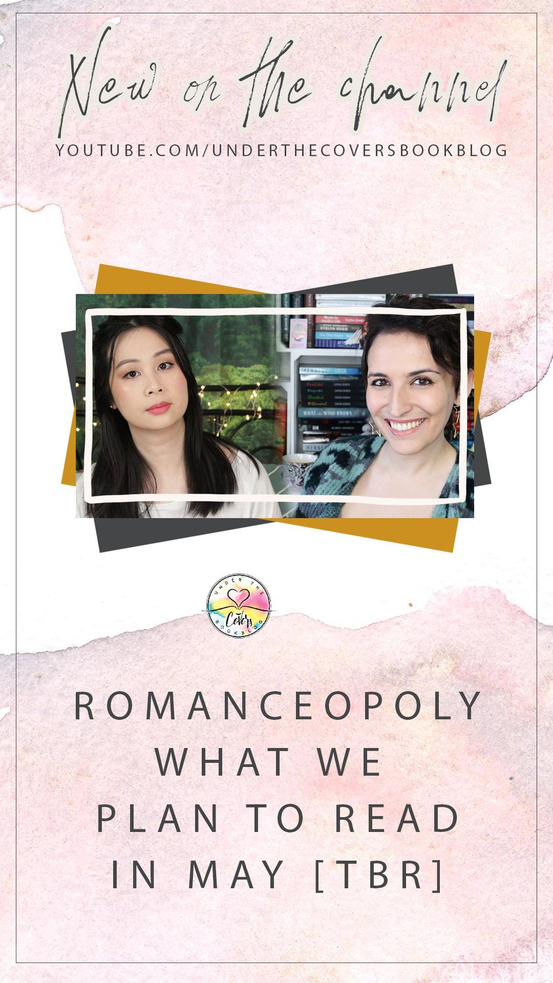 May 2020 Reading List #Romanceopoly