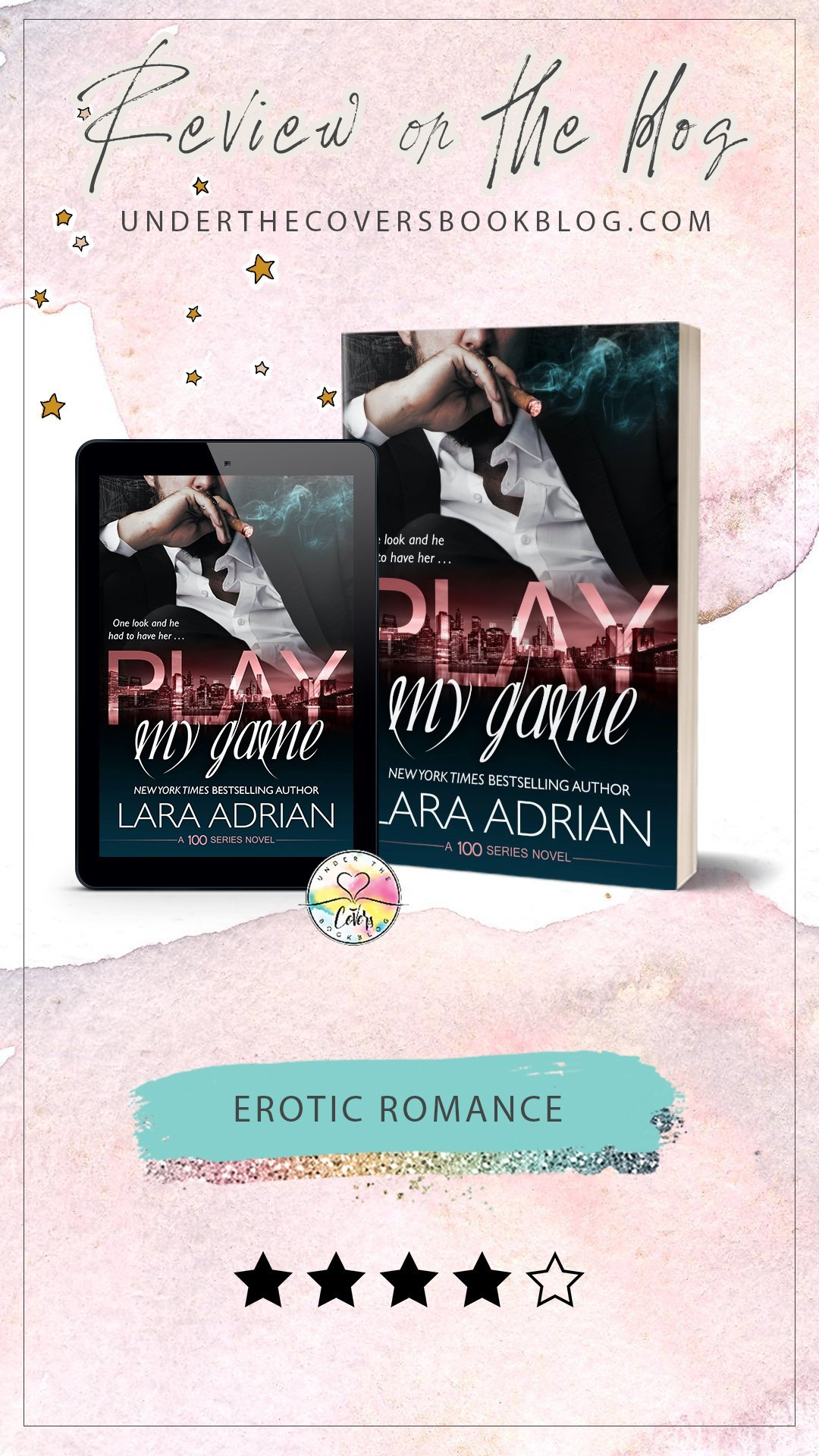 ARC Review: Play My Game by Lara Adrian