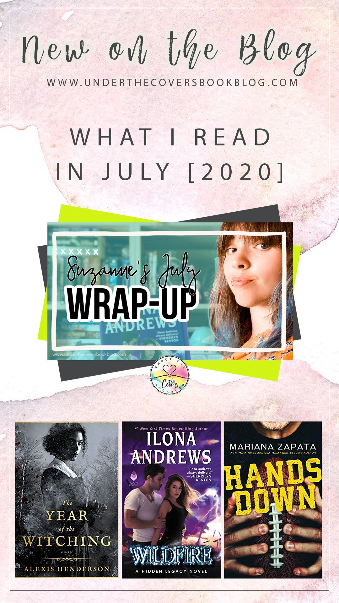 July 2020 Reading Wrap-up: Suzanne