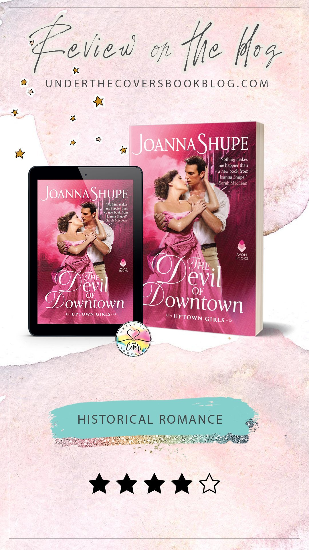 ARC Review: The Devil of Downtown by Joanna Shupe