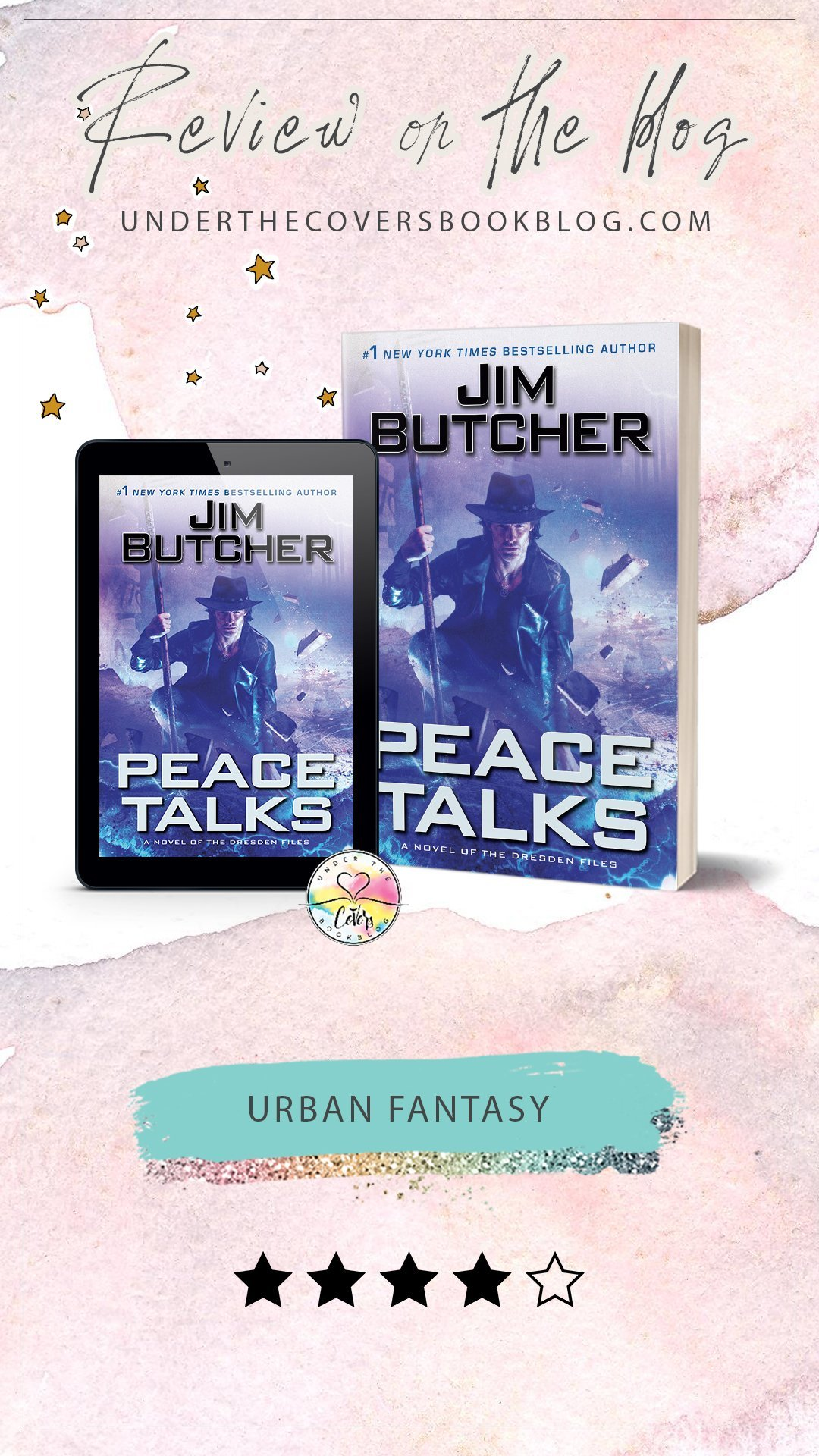 ARC Review: Peace Talks by Jim Butcher
