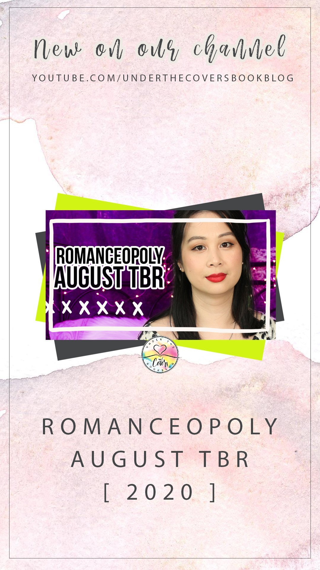 August 2020 Reading List #Romanceopoly