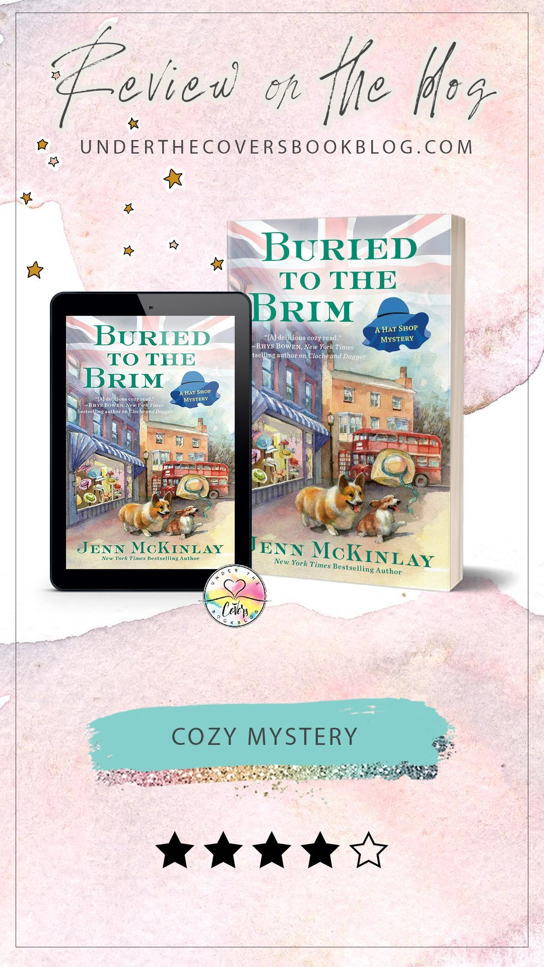 ARC Review: Buried to the Brim by Jenn McKinlay