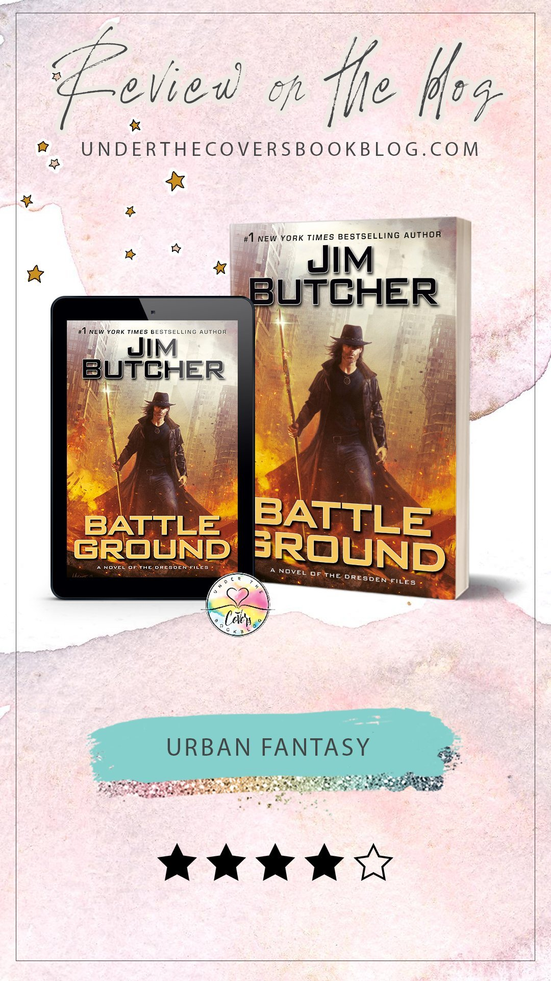 ARC Review: Battle Ground by Jim Butcher