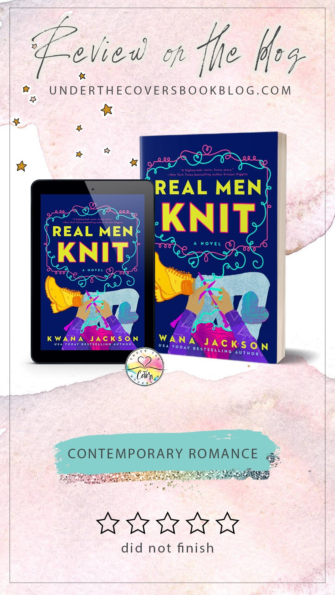 ARC Review: Real Men Knit by Kwana Jackson