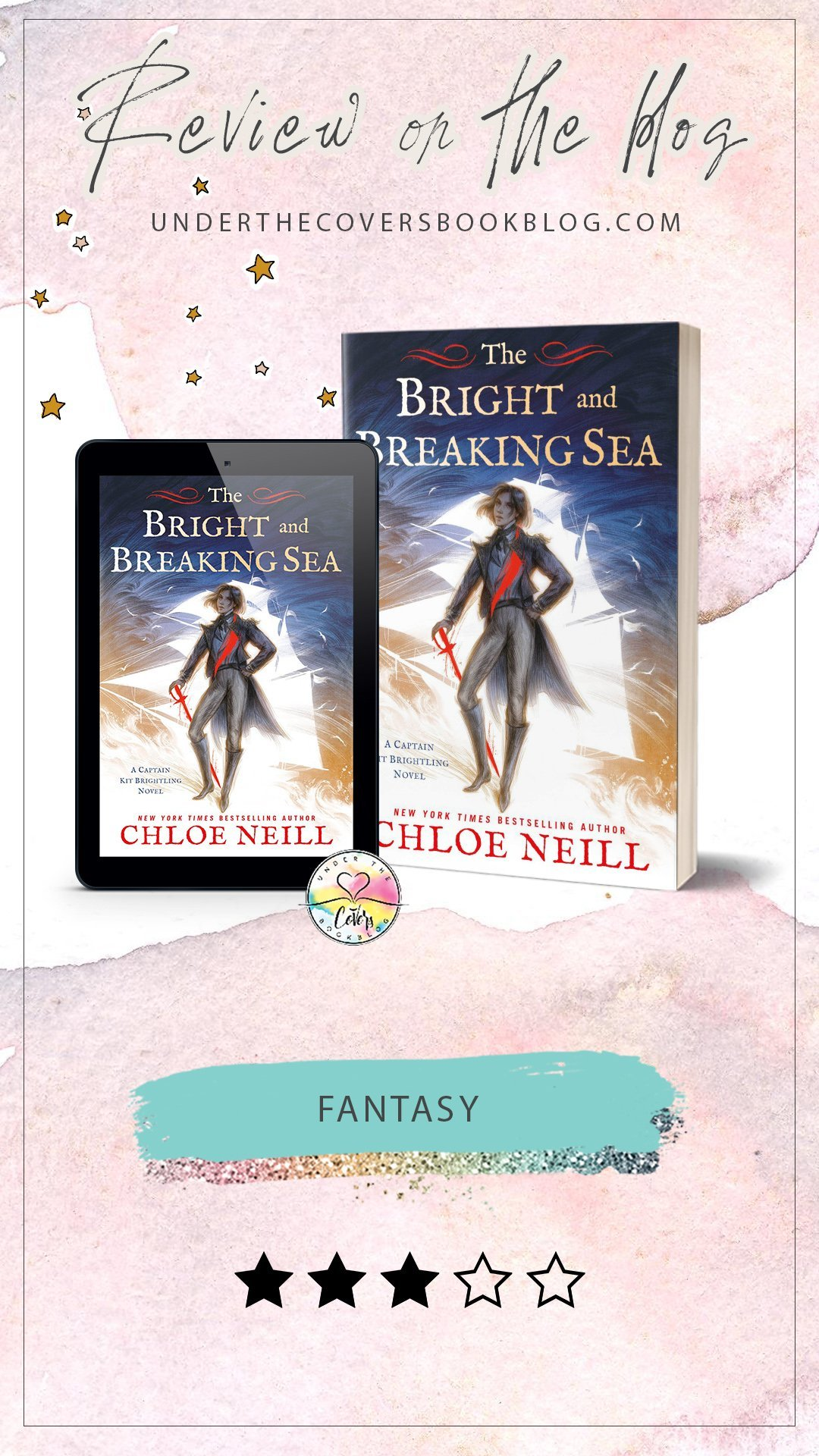 ARC Review: The Bright and Breaking Sea by Chloe Neill