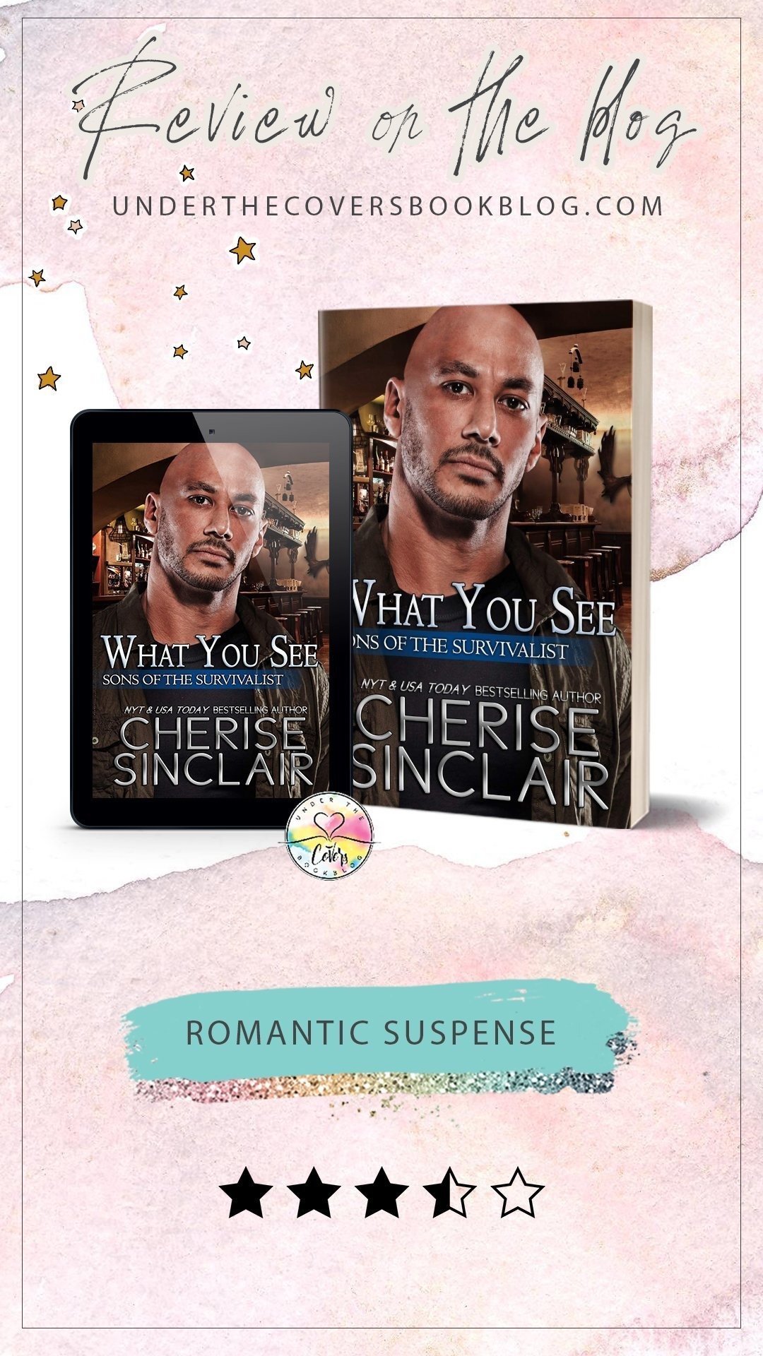 ARC Review: What You See by Cherise Sinclair