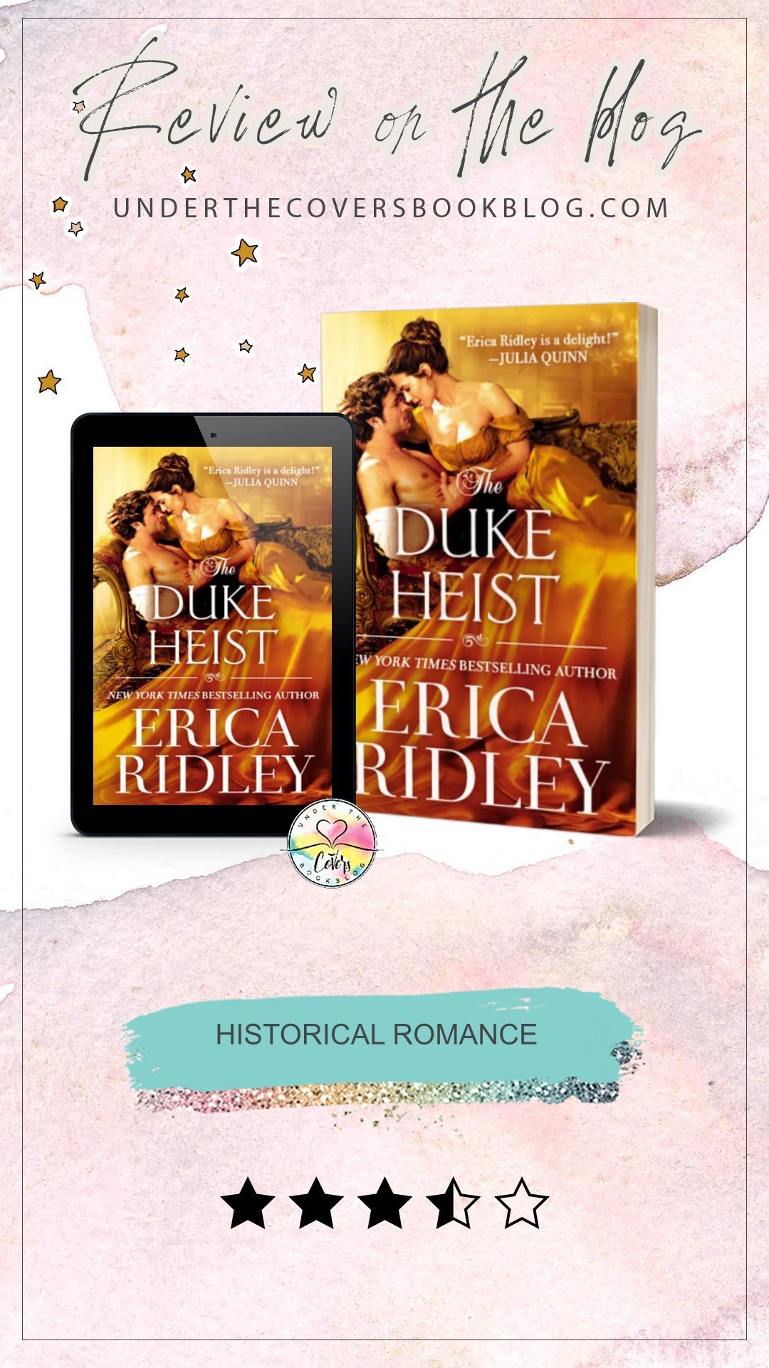 ARC Review: The Duke Heist by Erica Ridley