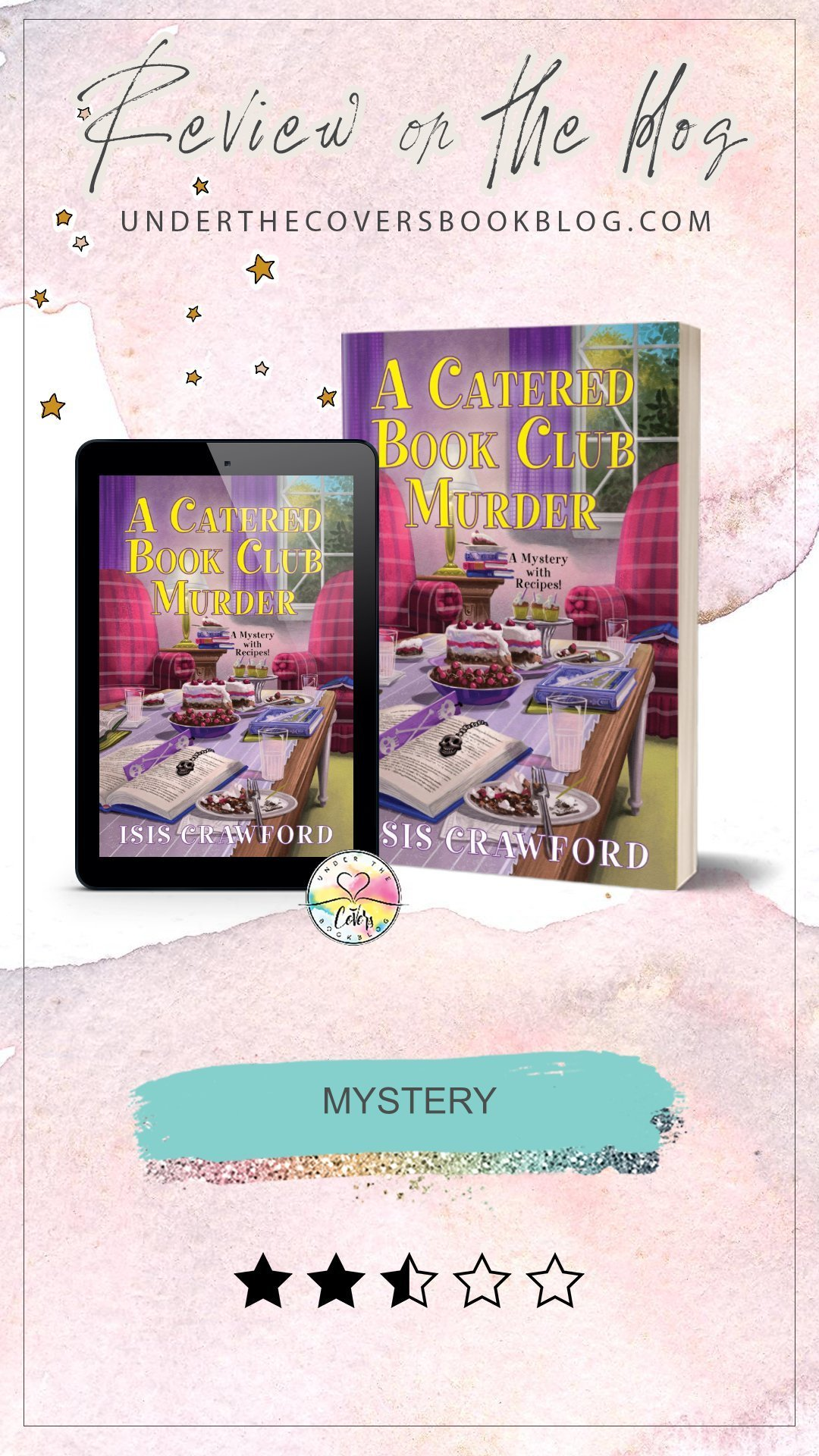 ARC Review: A Catered Book Club Murder by Isis Crawford