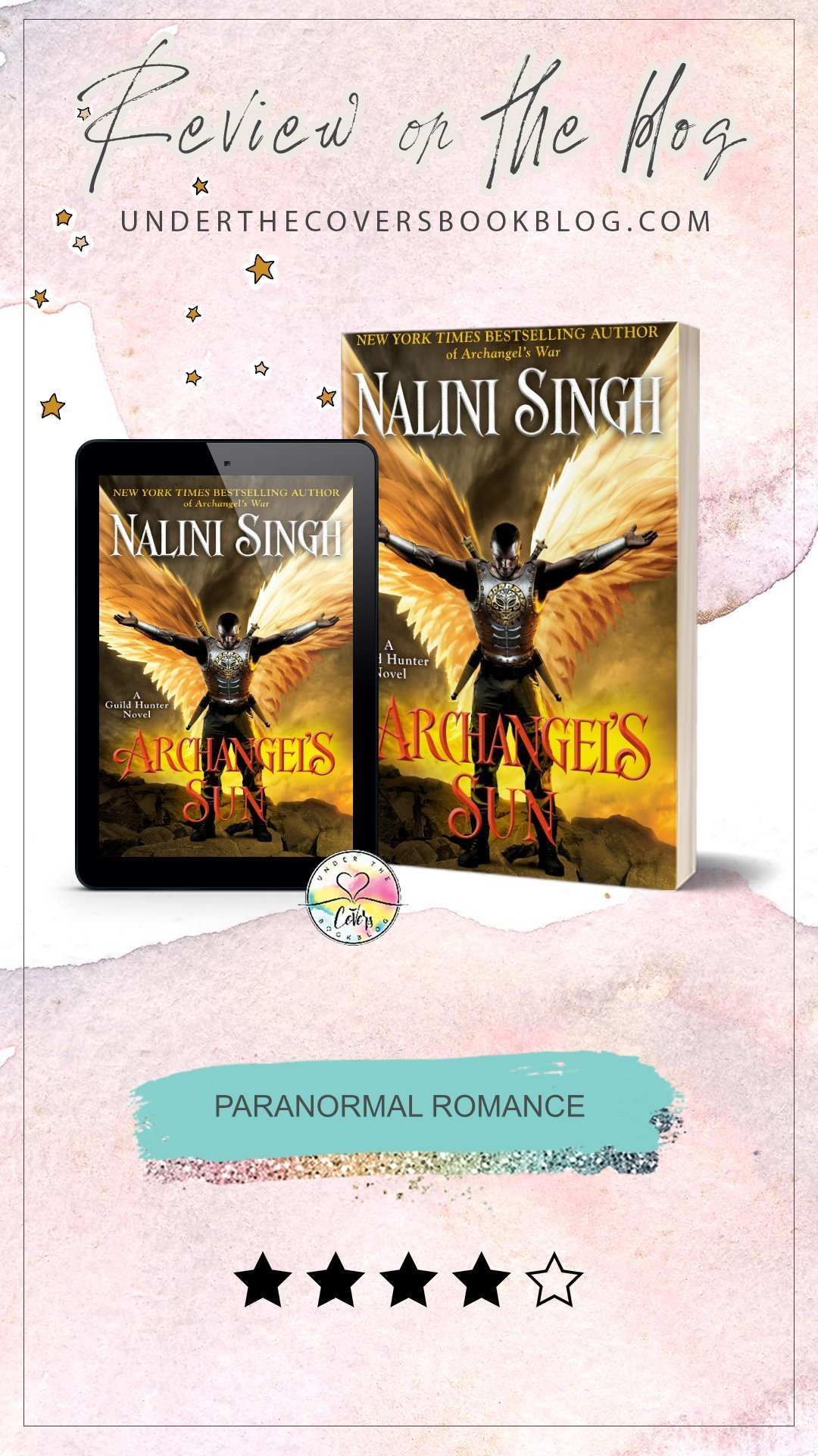 ARC Review: Archangel\'s Sun by Nalini Singh