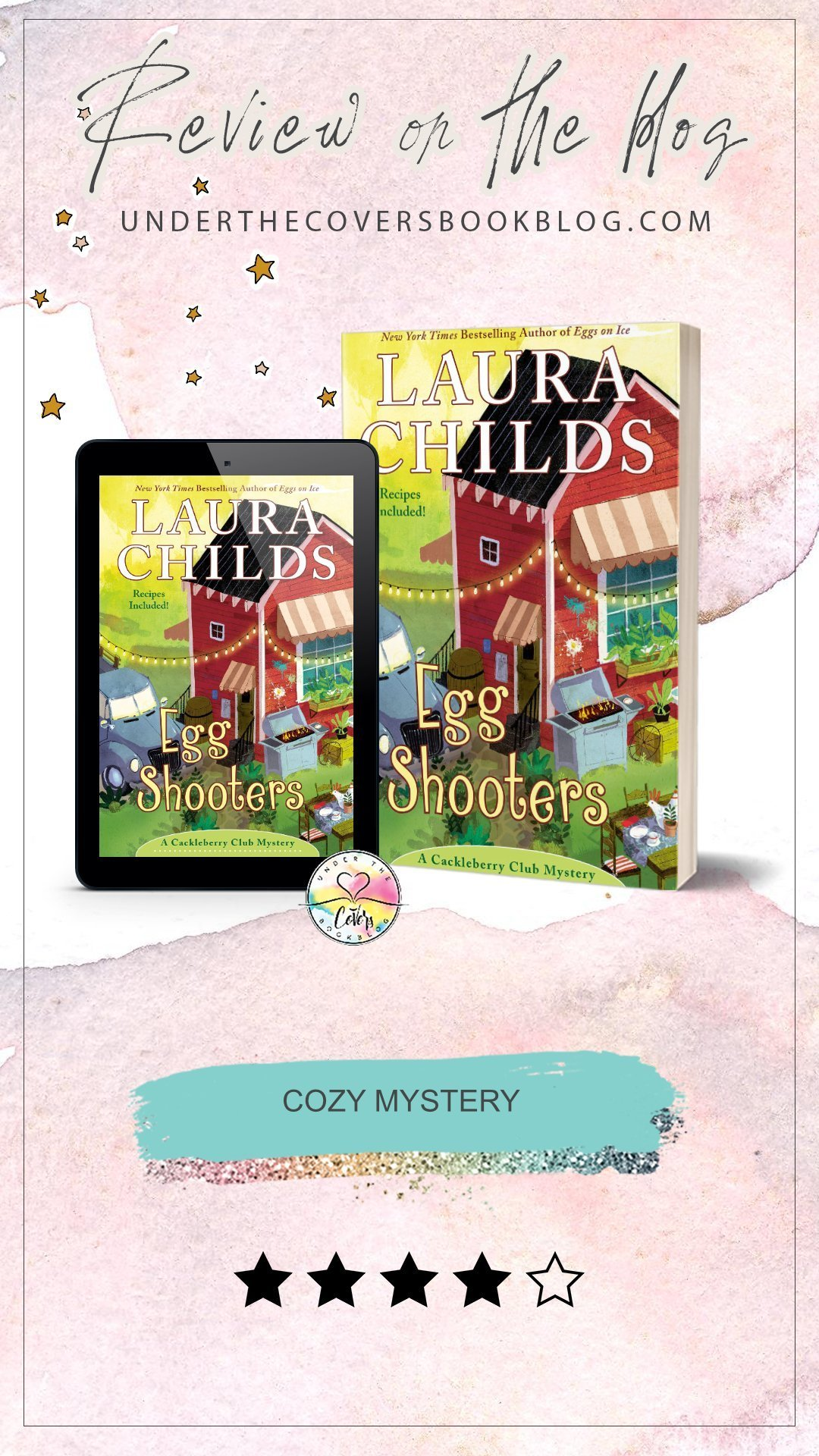 ARC Review: Egg Shooters by Laura Childs