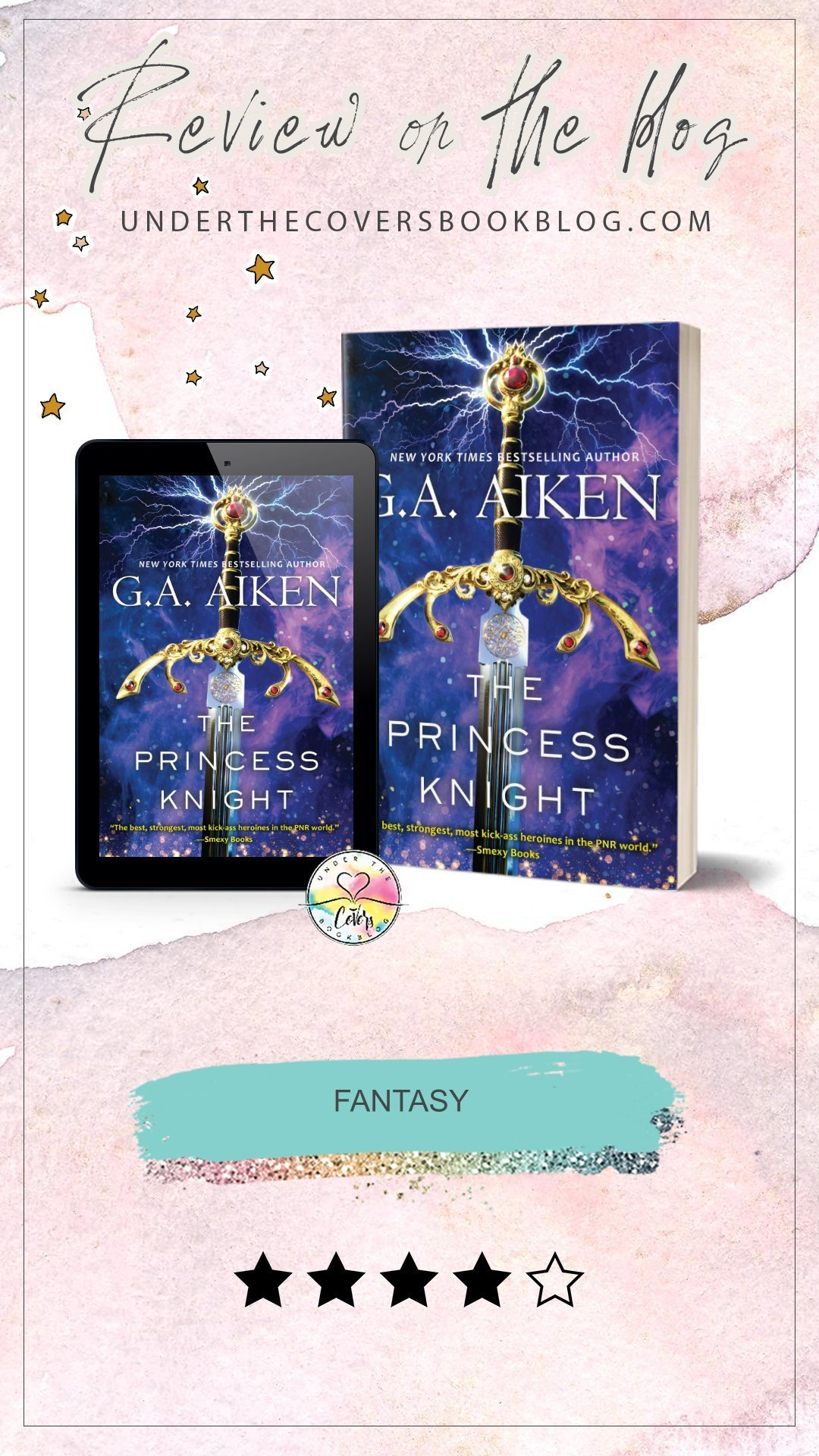ARC Review: The Princess Knight by G.A. Aiken